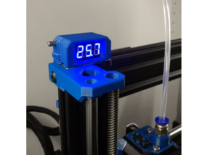 Prusa MK3 Bear Temperature and Voltage LCD