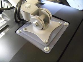VESA 100 to 75 mount adapter