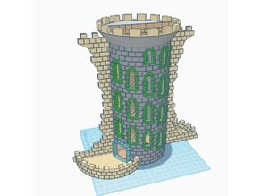 Zool's Double Helix Dice Tower