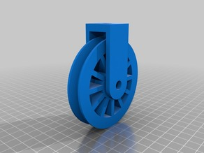 Customizable V-Belt Pulley w/Shackle