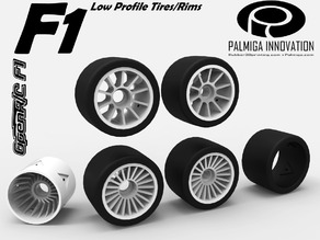 Low Profile Tires/Rims for OpenR/C F1 car