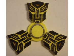 Transformer Fidget Spinner - Wingnut2k