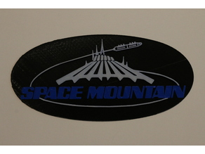 Space Mountain Logo