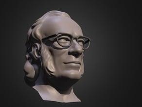 Bust of Isaac Asimov