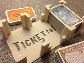 """Ticket to Ride"" card holder"