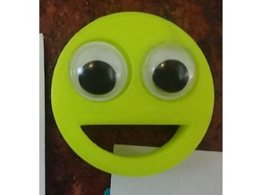 Emoji Magnet - Googly Eye Smile