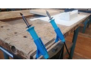 Vince-Mounted Soldering Woodburning Iron Holder