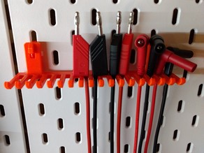 IKEA SKADIS Pegboard - Large cable holder