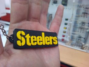 Steelers keychain