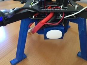 Quadrocopter LiPo Holder for Warthox Frames