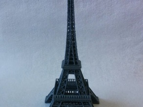 Eiffel Tower with fill-in