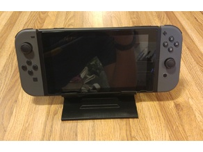 Folding Nintendo Switch Tabletop Stand (Print in Place) v2