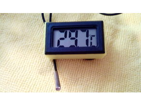 Case for Mini LCD Display Digital Thermometer