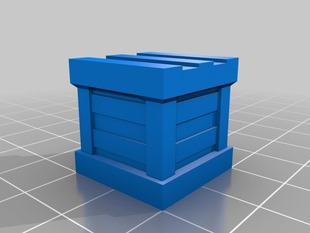 D&D Prop - Chamfered Crate