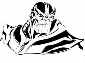 Thanos Stencil