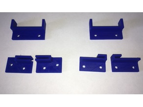Monoprice maker select fixing clamps