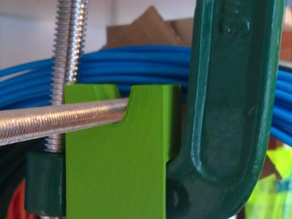 Lazy G Clamp M8 rod filament holder