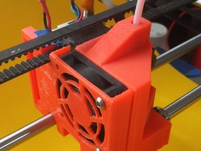 QU-BD RXL Extruder Shroud, Fan Mount, and Auto level