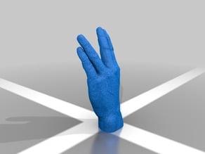 Live Long and Prosper Hand