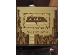Legend of Zelda Lithophane