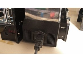 Tronxy P802MA Power Supply Cover