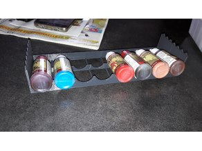 Stackable army painter paint rack