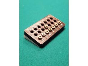 E3D V6 Nozzle Rack