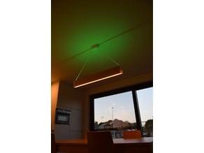 Philips Hue Ensis DIY ceiling light