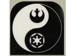 StarWars - Symbols - Ying Yang No1