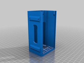 Sliding Lid RAMPS 1.4 Box - Lower Profile - Kossel 1515 mount