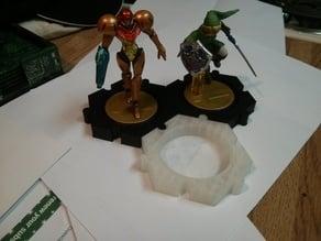 Amiibo figure stand