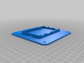 Raspberry Pi mounted VESA (100mm) case