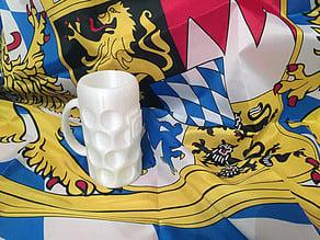 Masskrug - bavarian beerstein