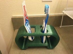 Toothbrush & Paste Display Unit