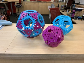 Interlocking Polygon Puzzle Shape