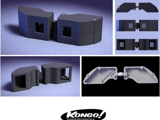 Stereoscopic Viewer by kongorilla - Thingiverse