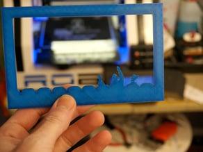 MST3K fridge magnet photo frame