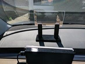 Tesla Model 3 GPS-based HUD mount