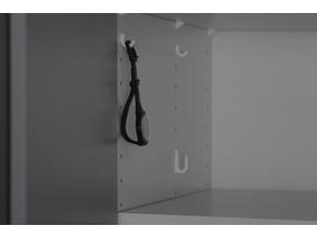 Hooks for Ikea Pax Shelf