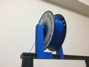 Creality CR-10 Filament holder version_1+CR-10 mount unit