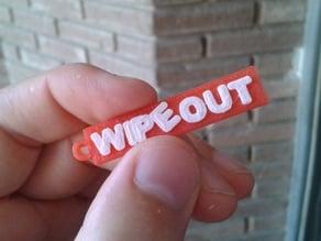 Wipeout keychain