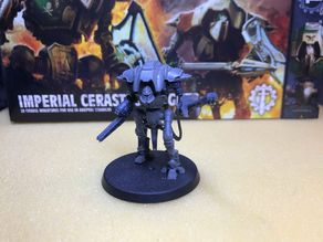 Flamer compatible with Cerastus Knights 8mm