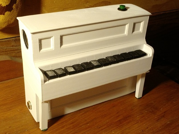 Arduino Player Piano by ClassyGoat - Thingiverse