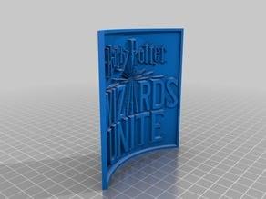 Harry Potter - Wizards Unite Lithophane