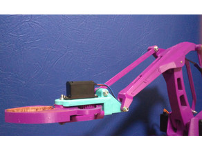 Adapter for Mantis Gripper to  EEZYbotARM MK2