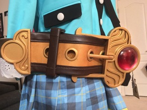 Atelier Shallie Shallotte cosplay belt: buckle / end piece