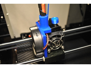 Anet A6 Cable Stabilisation