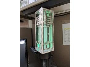 Laser Cut Frank Lloyd Wright Window Lamp