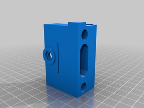 RepRap G3D (Prusa i3 variation) Leadscrew Z-axis w/Delrin Nut