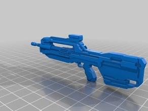 Halo BR Rifle Print Ready